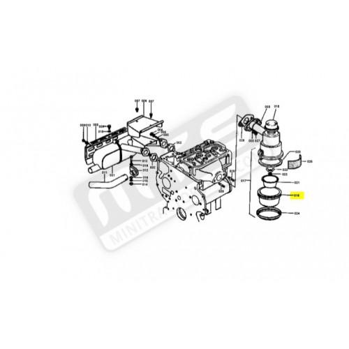 luchtfilter deksel origineel Kubota