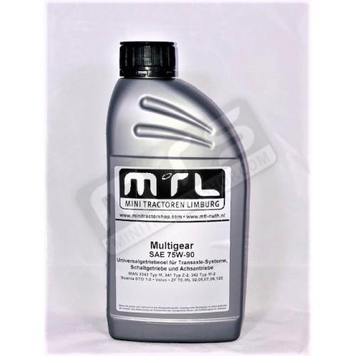 Multigear SAE 75W-90 vooras/tandwielkast olie 1 liter
