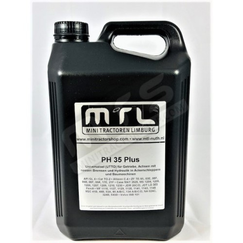 PH 35 plus gear/ hydraulic oil 5 Liter