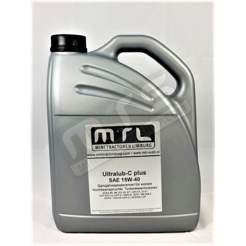 SAE 15W-40 engine oil 5 liter