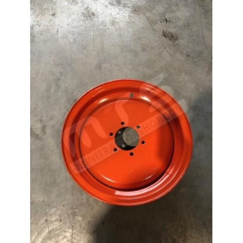 Felge 16 Zoll orange 6 Löcher
