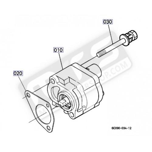 Hydraulic pump original Kubota