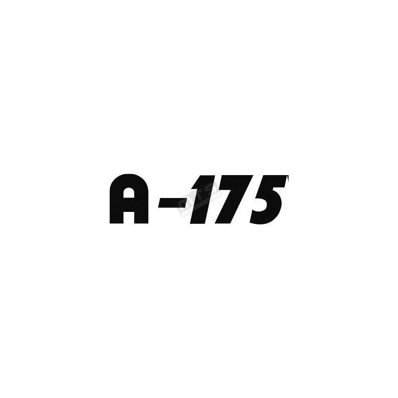 motorkap sticker Aste A-175