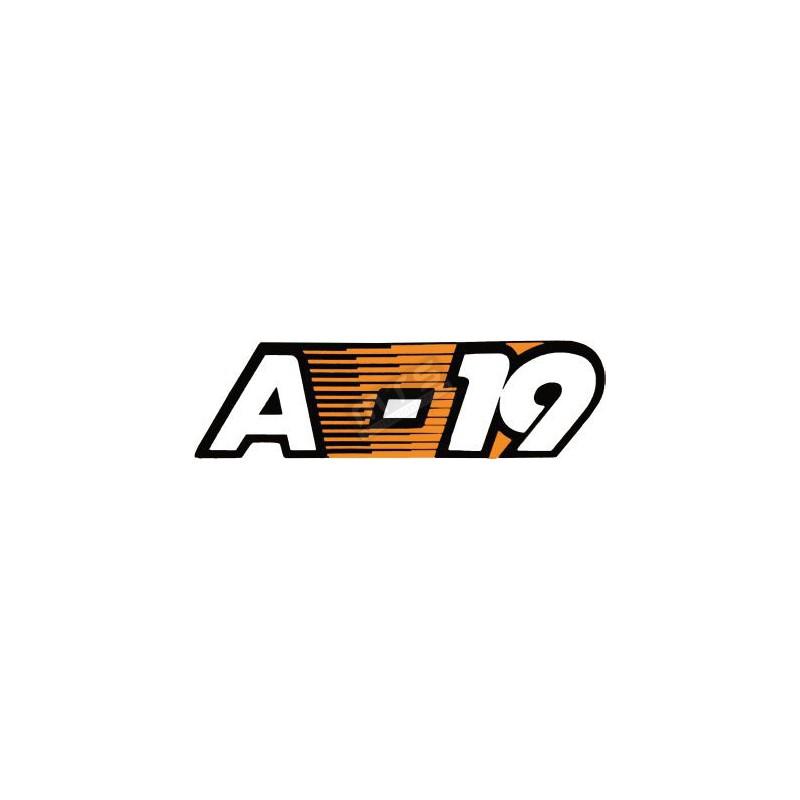 aufkleber motorhaube 1 stück Kubota Aste A-19
