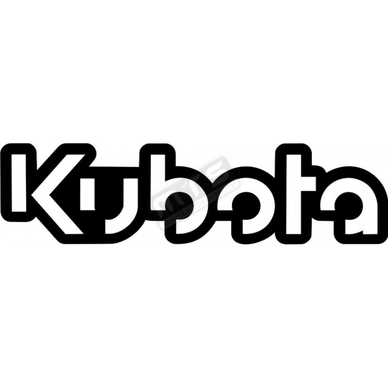 sticker 1 item Kubota