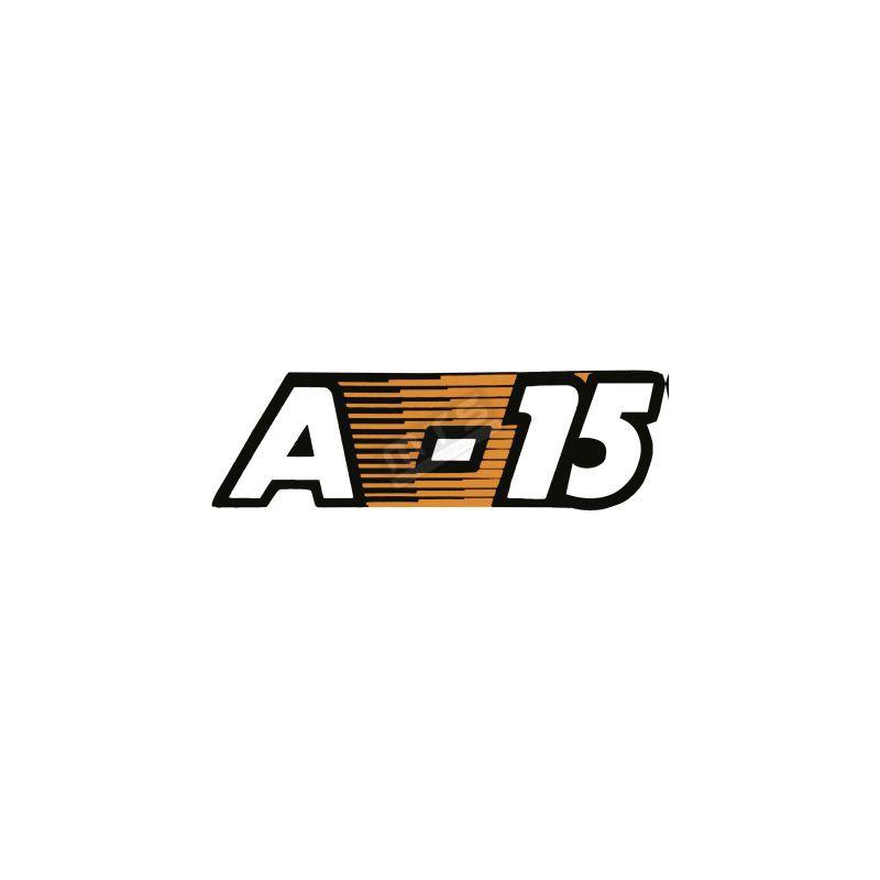 motorkap sticker  Aste A-15
