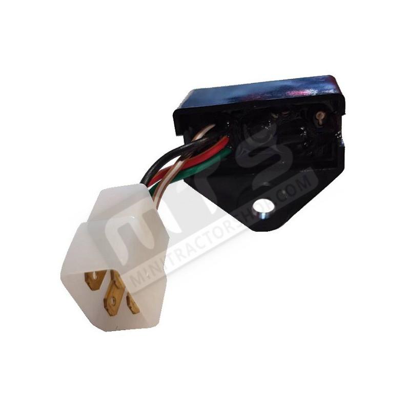rectifier regulator relay off lamp original Kubota