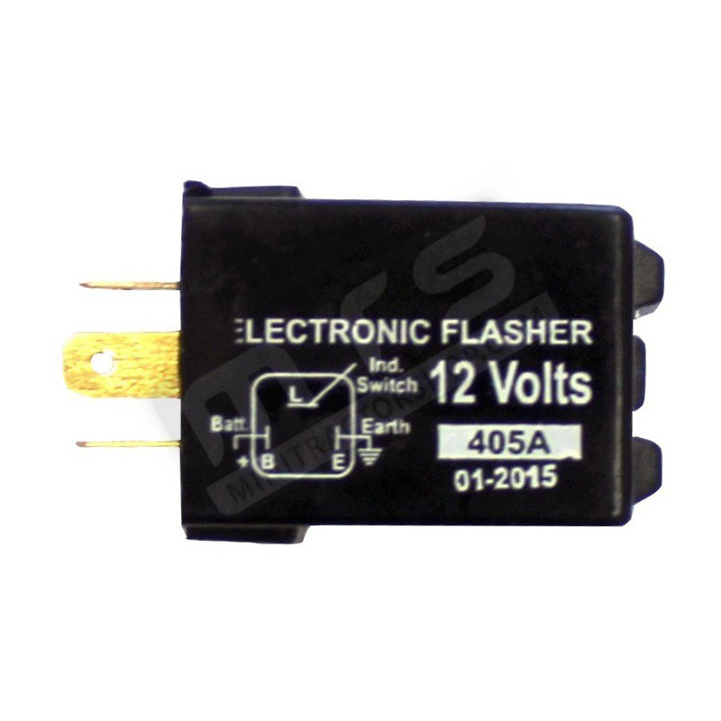 knipperlicht relais 12V 3 contacten