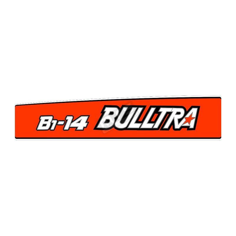 aufkleber-satz motorhaube Bulltra B1-14