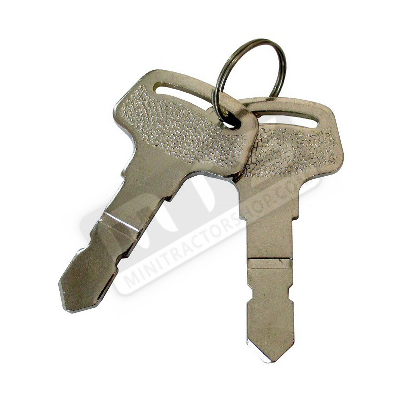 contact sleutels origineel Kubota