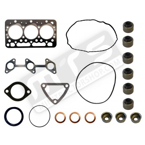 gasket set top with gasket cylinder head original Kubota