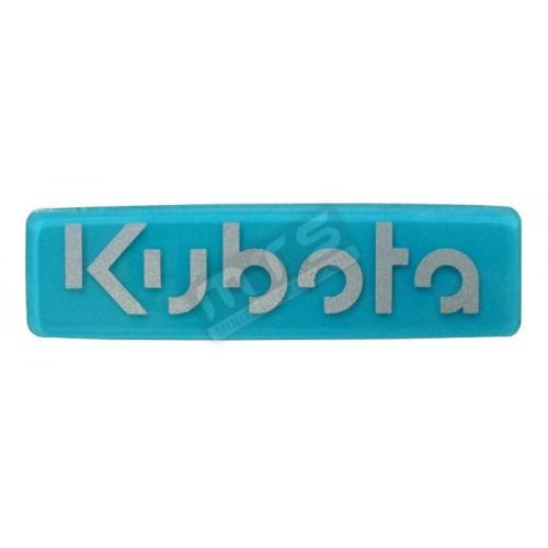 sticker stuur origineel Kubota