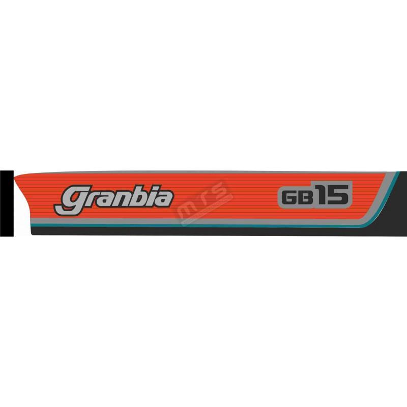 aufkleber-satz motorhaube Kubota Granbia GB15
