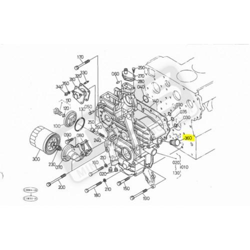 ölkappe motor original Kubota